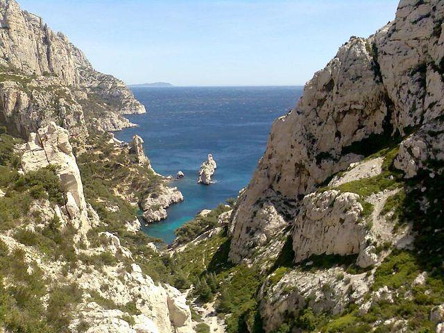 Calanques de Sugiton à Marseille
