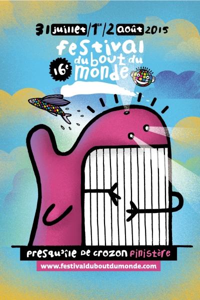 Festival Bout du Monde 2015 - Affiche