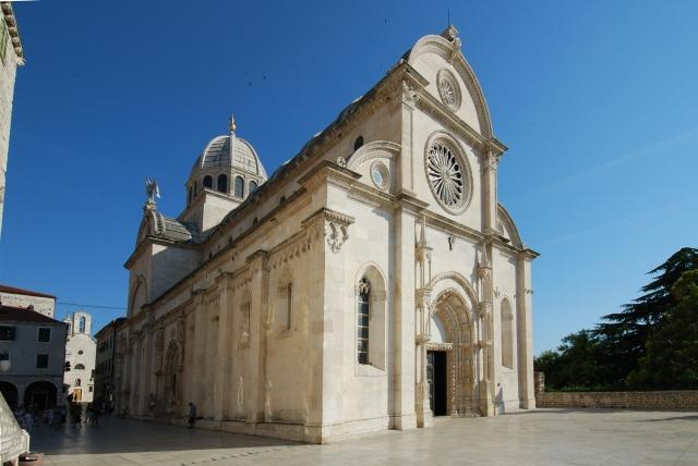 Cathédrale de Sibenik en Croatie