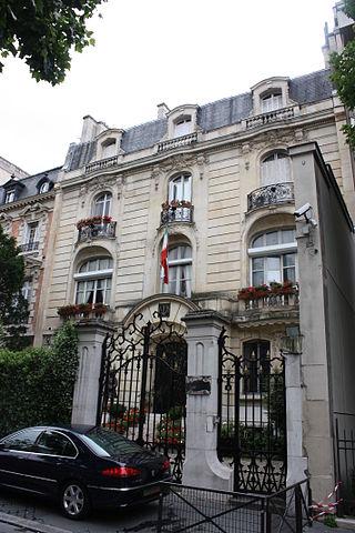 Ambassade d'Iran en France