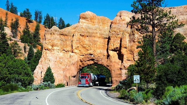 USA entrée de Bryce Canyon