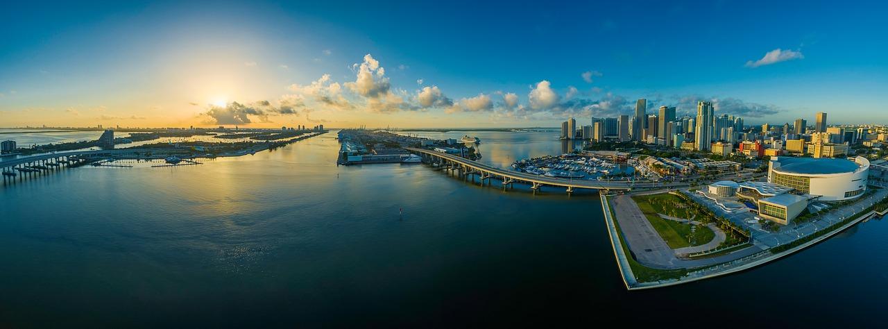 Miamu Floride USA : panorama