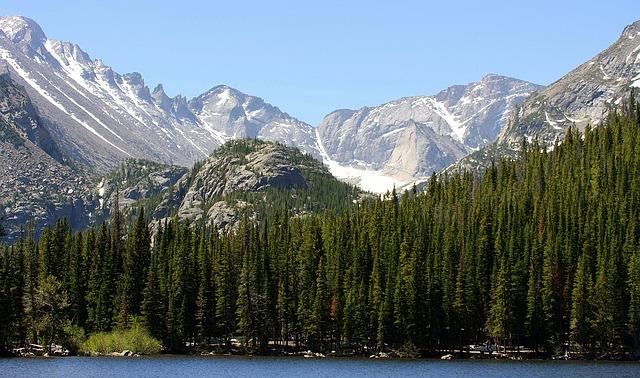 Etats unis Montagnes Rocheuses