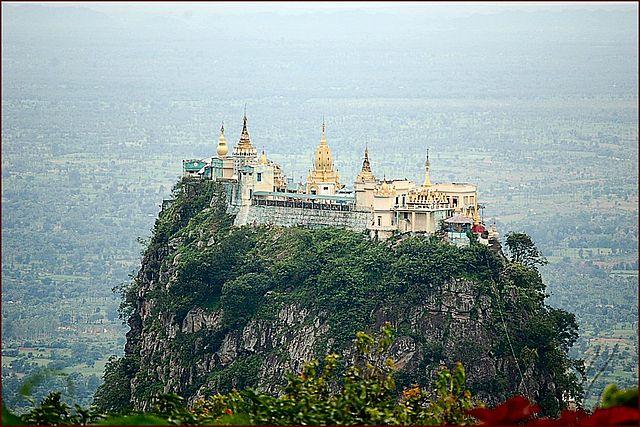 Birmanie MONT POPA