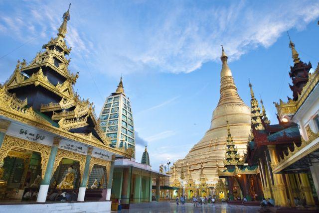 birmanie la pagode Shwedagon