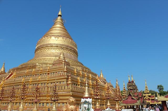 myanmar la pagode Shwedagon